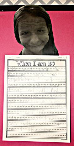 Used old fart photo booth app and then student wrote about it