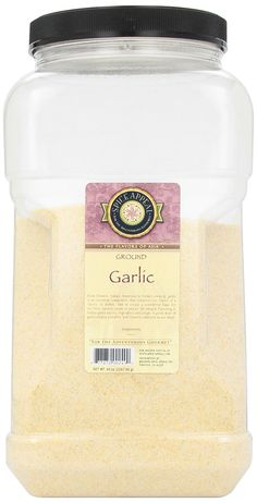 Spice Appeal Garlic Ground, 80-Ounce Jar * Awesome product. Click the image at  : Amazon fresh