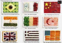Banderas comestibles