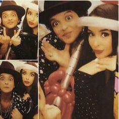 Bruno and Jessica being weird