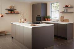 Besten keukens modern strak minimalistisch greeploos bilder