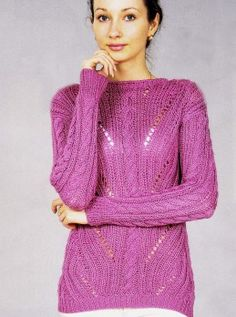 Pullover mit Fantasiemuster