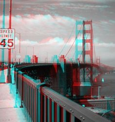 The first 3D anaglyphic motion picture was created in 1889 by William Friese-Green.  Anaglyphs have been used in comic books, newspapers, magazines, etc.  and were especially popular in movies in the 1950's.