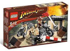 LEGO  Indiana  Jones  7620  Indiana  Jones  motorcycle  chase