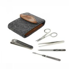 Wild & Wolf Manicure Set Silver in the group Hair and skincare at Sivletto (w9857)