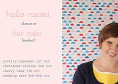 Hello Naomi, London Cake, Cake Decorating Classes, Cherry Cake, Free Blog, Christmas Cookies, Christmas Christmas, Let Them Eat Cake, User Profile