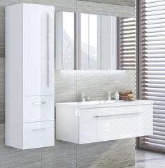 Alterna Ella spegelskåp, högskåp och underskåp | Badplatsen