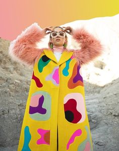 manteau coat 🎨 design by Miranda Makaroff Streetwear Mode, Streetwear Fashion, Mode Chic, Mode Style, Cool Outfits, Fashion Outfits, Fashion Trends, Fresh Outfits, Fashion Ideas