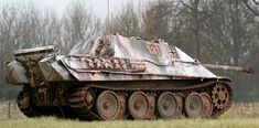 Jagdpanther (Hunting Panther) German tank destroyer built by Germany during World War II. (google.image) 02.17