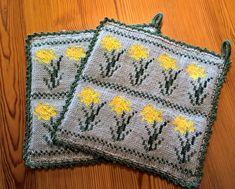 Crochet Potholders, Knit Crochet, Happy Evening, Knitting Patterns, Crochet Patterns, Knitting Videos, Double Knitting, Pot Holders, Blanket