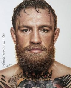 Realistic Pencils Drawings by Brazil based Artist Sheila R Giovanni. Conor Mcgregor, Black Paper Drawing, Realistic Pencil Drawings, Portrait Photography Men, Traditional Japanese Art, Celebrity Drawings, Mike Tyson, Grey Tattoo, Color Pencil Art