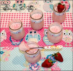Desayunos en Tiffany´s: Vasitos de fresas