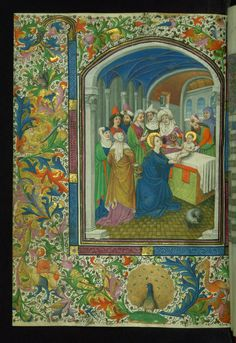 book of hours use of rome masters of the gold scrolls one artist