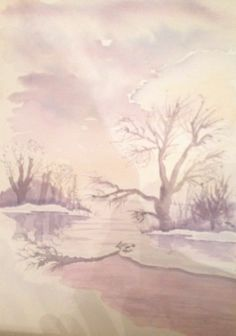Watercolour  Tonal study