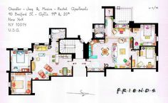 AMAZING! F.R.I.E.N.D.S appartments!