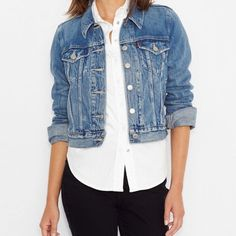 92ffc1b78f Levi s Jean Jacket Worn over everything by pretty much everyone. Since  1962