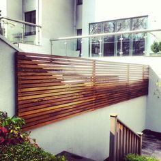 Garden screen for top half of wall.