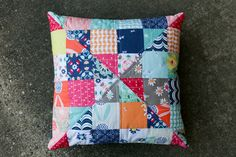 Curiosities Mystery Quilted Pillow