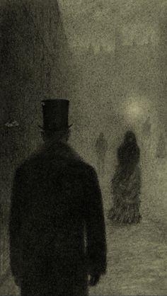 By Angela Barrett from Dr Jekyll & Mr Hyde by Robert Louis Stevenson / Hand & Eye Press