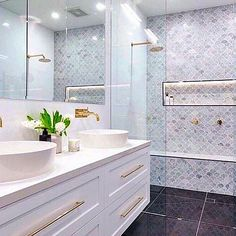 In exciting news, our family bathroom has gone viral! We couldn't love it more and are thrilled you do, too. Thanks to our gorgeous Insta family for loving and supporting us so much. Hall Bathroom, Family Bathroom, Bathroom Renos, Laundry In Bathroom, Simple Bathroom, Master Bathroom, Bathroom Remodelling, White Bathroom, Bathroom Renovations Sydney