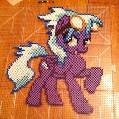 My Little Pony perler beads by uberfangirls