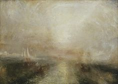 Joseph Mallord William Turner, 'Yacht Approaching the Coast' c ...