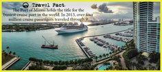 #TravelFact #Cruise #WelcomeToMiami