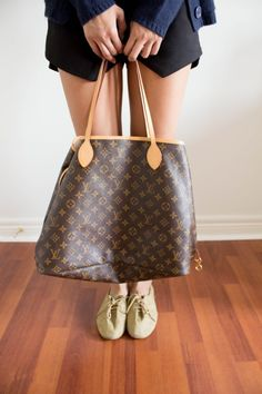 Louis Vuitton Neverfull.. the perfect bag