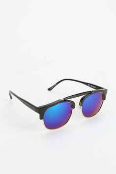 64be3ae59a Beach Bum Mirrored Catmaster Sunglasses - Urban Outfitters