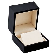 Black Small Earring or Pendant Box...(61-8071:100000:T).! Price: $19.99 #earringbox #jewelerybox #jewelery