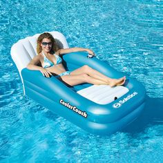 CoolerCouch Oversized Inflatable Pool Lounger | Overstock.com Shopping - The Best Prices on Swimline Inflatables....Need for the Lake!
