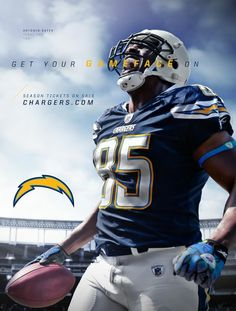 San Diego Chargers brand ad (via Think Basic). San Diego Chargers, Chargers Nfl, Football Art, Football Season, Man Cave Accessories, Brand Advertising, Sports Marketing, Nfl Fans, Wedding Humor