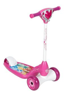 10b31358b93c Huffy Bicycle Company Kid s 28514 Disney Princess Lights and Sounds Scooter  Huffy http