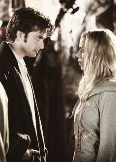 bad wolf, billie piper, david tennant, doctor who, forever, rose tyler, tenth doctor, time and space, christmas invasion