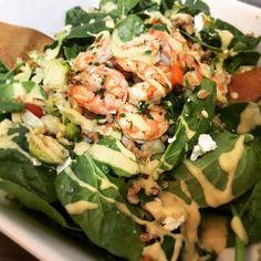 Farro Shrimp Salad with Lemon Dijon Dressing