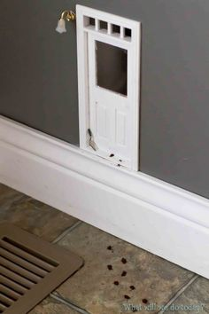 Fairy Doors - i would have loved this when I was a kid.... except my door would have been for little people, not fairies.