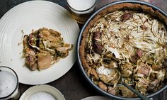 Cool evenings call for warm pies. But why not try something new? Gammon with shallots or peri peri chicken and spices both thrive under a crunchy crust, says Nigel Slater