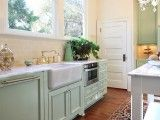 Bhg Gorgeous L Shaped Kitchen Clean White Walls And Large
