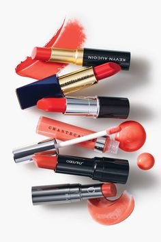Orange is the color on everyone's lips...literally & figuratively.