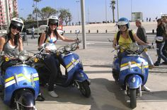 Barcelona Independent Scooter Tour and Rental Discover Barcelona and its surrounding attractions in an exciting way – on a scooter! With this scooter rental, set your own itinerary, drive along Barcelona's waterfront and see famous landmarks like La Sagrada Familia, Park Güell, the Cathedral of Barcelona and more. An adventurous and convenient alternative to traditional tours, an easy-to-ride scooter allows you to get off the beaten path and explore Barcelona at your own pa...