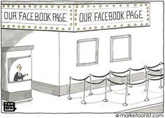 Marketoonist is the thought bubble of Tom Fishburne. Marketing cartoons, content marketing with a sense of humor, keynote speaking. Facebook Jobs, Facebook Marketing, Cv Tips, Business Cartoons, Google Plus, Youtube Money, Job Search, How To Get Money, Social Media Tips
