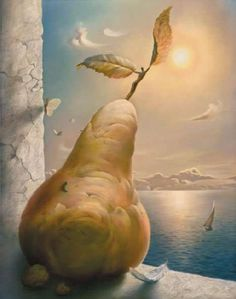 by Vladimir Kush.Prints and an original oil painting by Kush are held in the NaPua Gallery collection at the Grand Wailea Resort on Maui in addition to works held in private collections. Vladimir Kush, Art Visionnaire, Salvador Dali Art, Dali Paintings, Surrealism Painting, Art Moderne, Visionary Art, Wassily Kandinsky, Fine Art