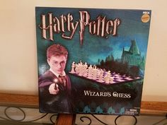 """Harry Potter Wizard Chess Set"" Board Game Borders Exclusive- Complete! Rare! #neca"