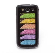 Rhinestone Crystal Cover Case For Samsung Galaxy S3 9300 Black Case: