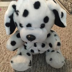 For Sale: Soft Dalmatian Stuffed Animal for $5