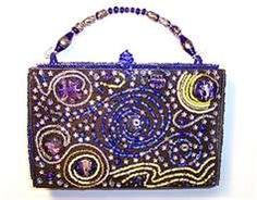PURSE: Starry Night…making a cigar box handbag using Starry Night painting as inspiration Cigar Box Projects, Cigar Box Crafts, Cigar Box Art, Cigar Box Purse, Altered Cigar Boxes, Altered Tins, Cheap Designer Purses, Beaded Purses, Bling Purses
