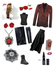 """The Red Rose"" by lueya on Polyvore featuring Paul Smith, Manic Panic NYC, Jeffrey Campbell and Bling Jewelry"