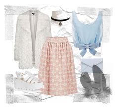 """""""Pastel"""" by joana-s-tavares ❤ liked on Polyvore featuring Honor, Topshop, Rebecca Minkoff, Orla Kiely, Glamorous, women's clothing, women, female, woman and misses"""
