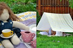 create a cozy, shady reading spot right in your own backyard