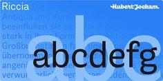 Riccia - Webfont & Desktop font « MyFonts